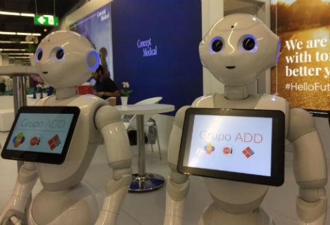 robots camareros grupo add