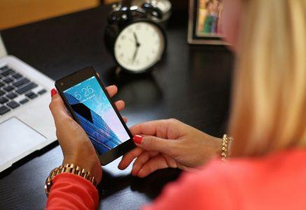 Incremento del uso del móvil