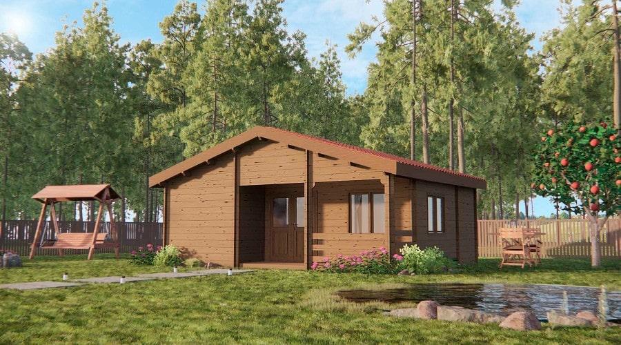 Construir una casa de madera